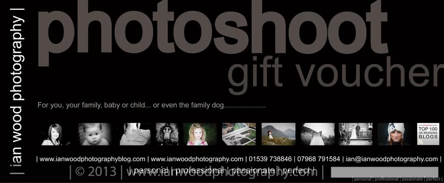 Wedding presents and gift vouchers Ian Wood Photography Blog